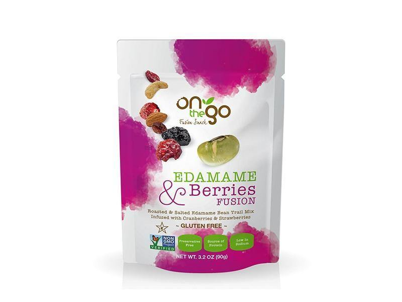 On The Go - Edamame and Berries Fusion - door2doorfresh.com