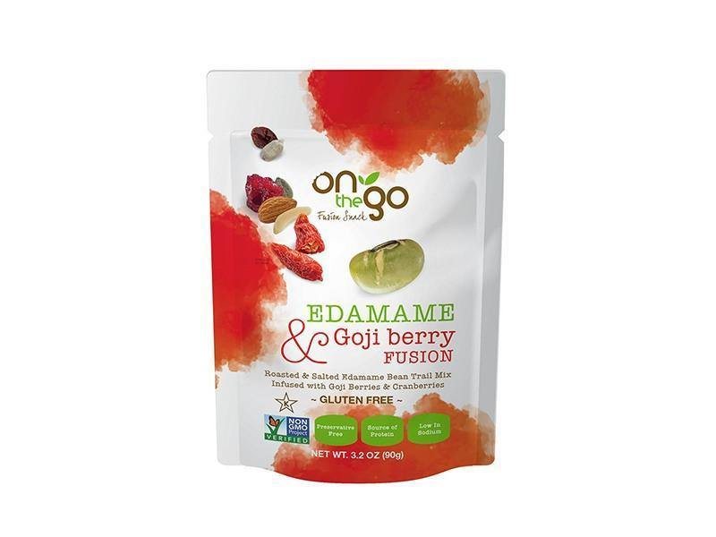 On The Go - Edamame and Goji Berry Fusion - door2doorfresh.com