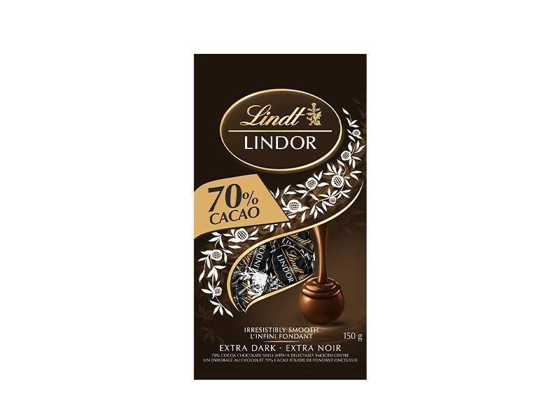 Lindt - Lindor 70% Dark Bag - door2doorfresh.com
