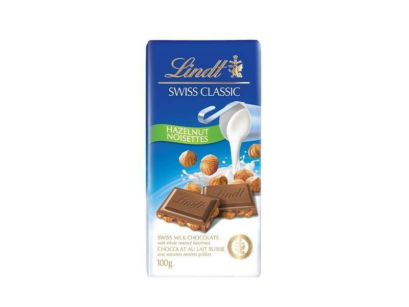 Lindt - Swiss Classic Milk Hazelnut - door2doorfresh.com