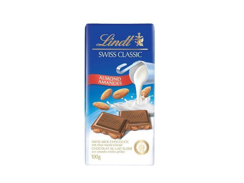Lindt - Swiss Classic Milk Almond - door2doorfresh.com