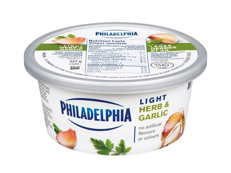 Philadelphia - Soft Light Herb Garlic - door2doorfresh.com