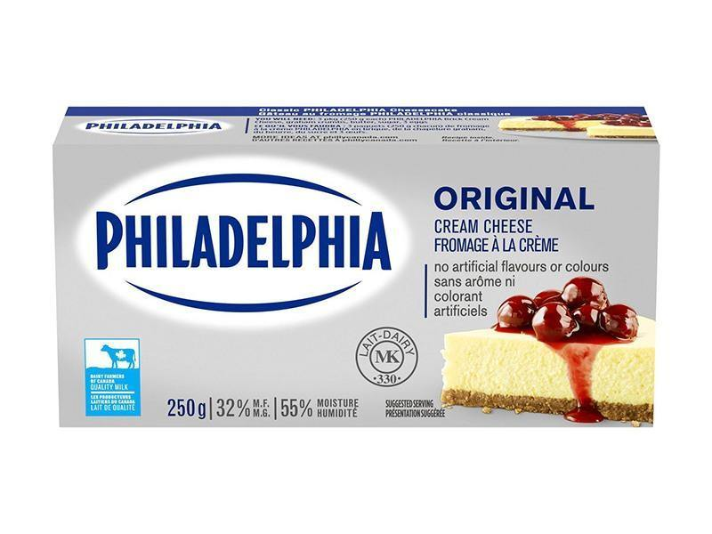 Philadelphia - Cream Cheese Plain - door2doorfresh.com