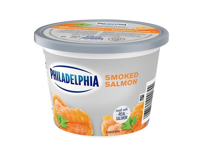 Philadelphia Cream Cheese Smoked Salmon - door2doorfresh.com