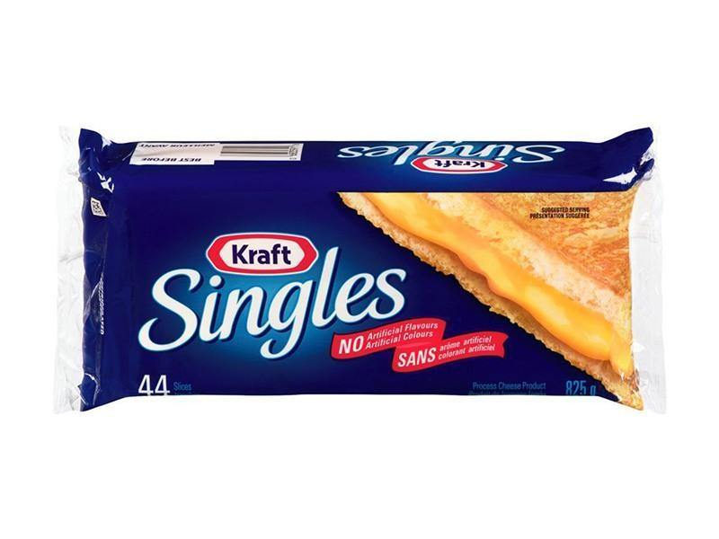 Kraft - Cheese Slices Singles (44) - door2doorfresh.com