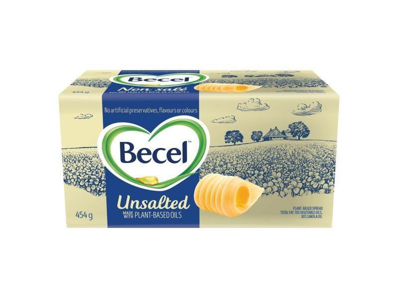 Becel Unsalted Plant Based Brick - door2doorfresh.com