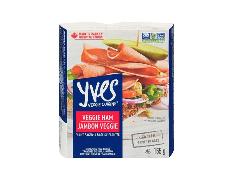 Yves Veggie Ham Slices Simulated Luncheon Ham - door2doorfresh.com