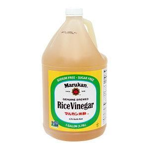 Marukan Genuine Brewed Rice Wine Vinegar 4x3.78 L - door2doorfresh.com