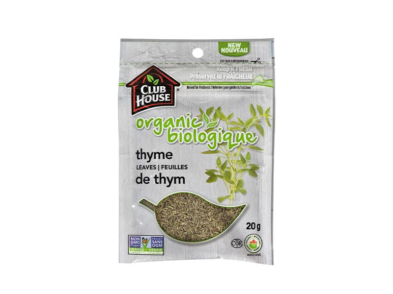 Club House - Organic Thyme Leaves Bag - door2doorfresh.com