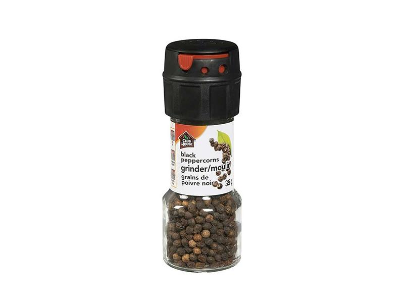 Club House Grinder- Black Peppercorn - door2doorfresh.com