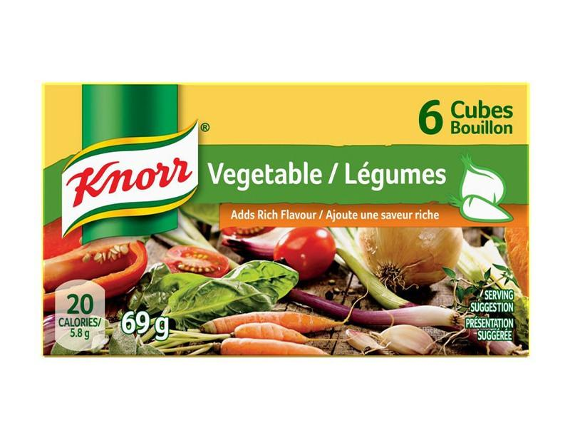 Knorr Boullion Cube - Vegetable - door2doorfresh.com