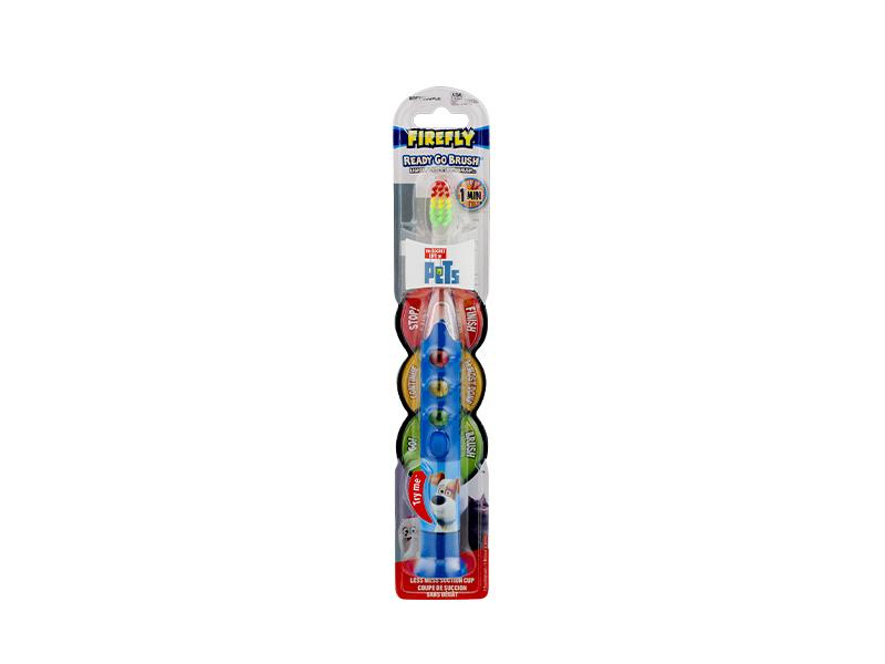 Firefly Secret Life of Pets Ready Go Toothbrush - door2doorfresh.com