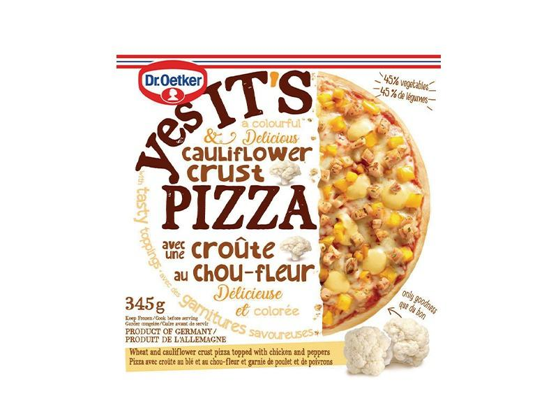 Dr. Oetker - Yes Its Pizza Cauliflower Crust - door2doorfresh.com