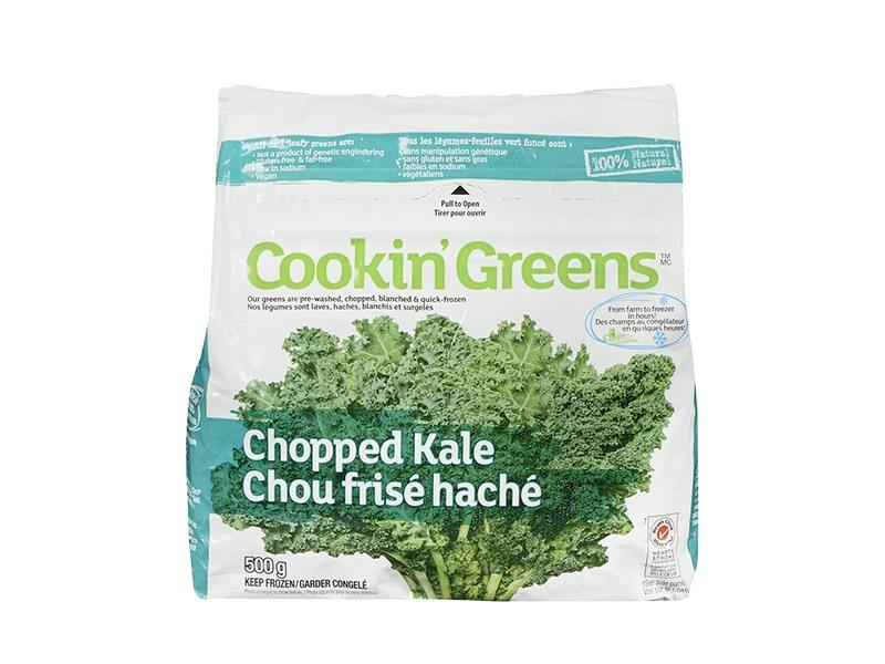 Cookin Greens - Chopped Kale - door2doorfresh.com
