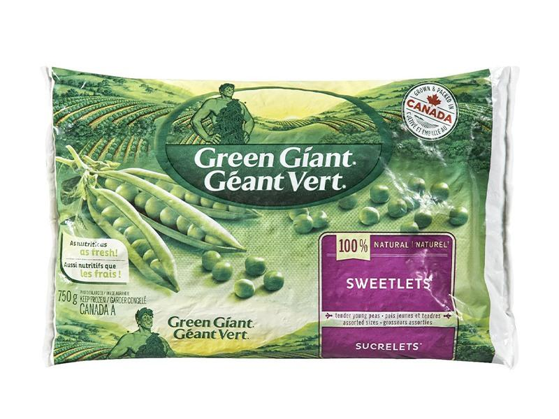 Green Giant - Frozen Sweetlet Peas - door2doorfresh.com