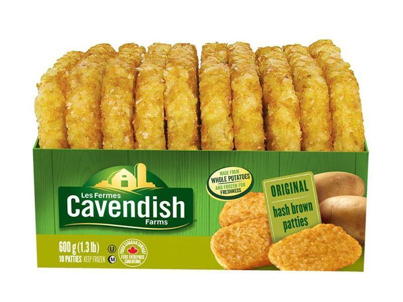 Cavendish - Farm Classic Org. Hash Brown Patties - door2doorfresh.com