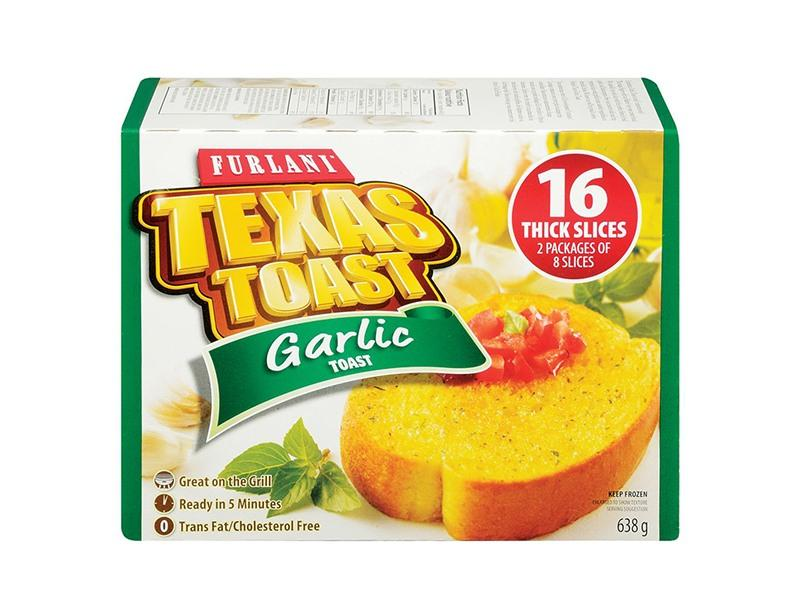 Furlani Texas Garlic Toast 16 Thick Slices - Box - door2doorfresh.com
