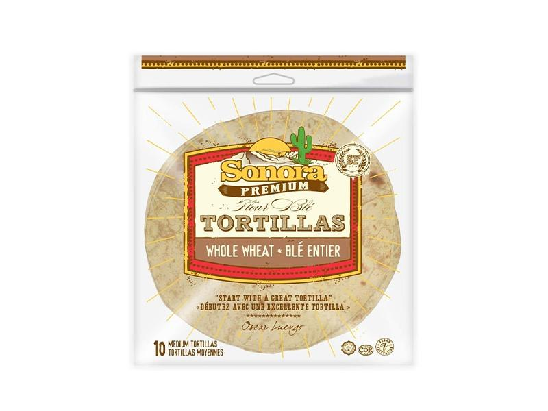 Sonora - 8in Whole Wheat Tortilla - door2doorfresh.com