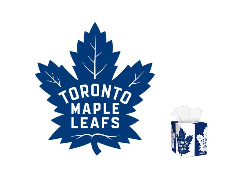 Scotties Facial Tissue Toronto Maple Leafs Cubes - door2doorfresh.com
