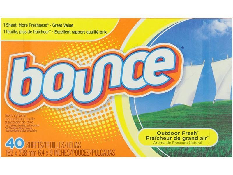 Bounce - Fabric Softener Sheets Outdoor Fresh - door2doorfresh.com