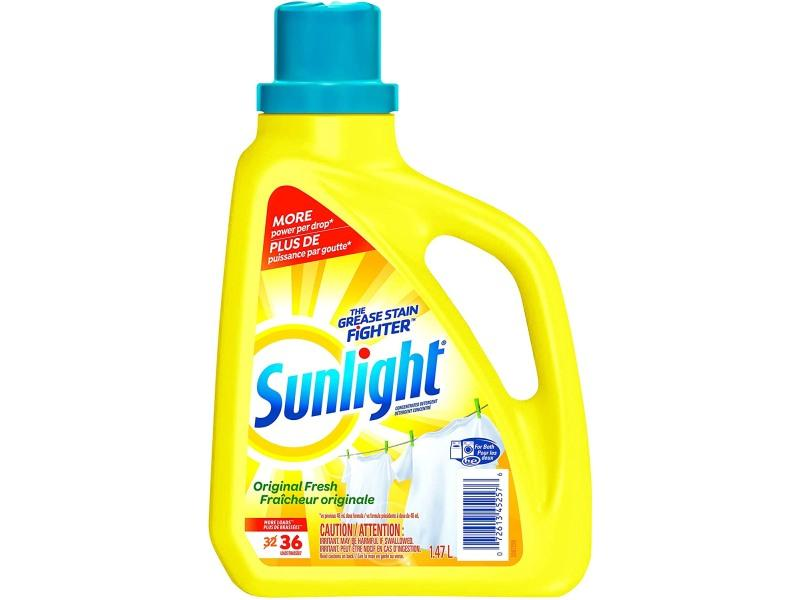 Sunlight Liquid Laundry Detergent - Original 32 Load - door2doorfresh.com