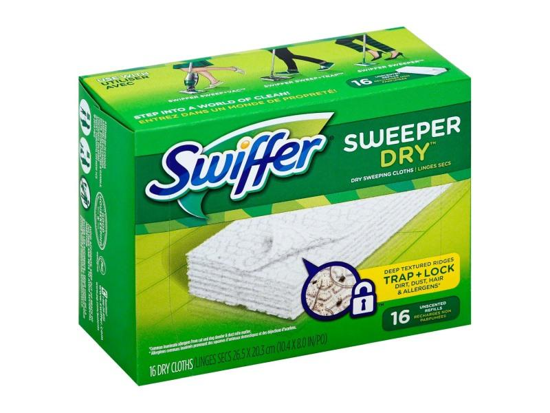 Swiffer - Sweeper Refills Dry Disposable Cloth - door2doorfresh.com