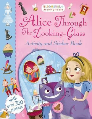 Alice Through the Looking Glass Activity and Sticker Book