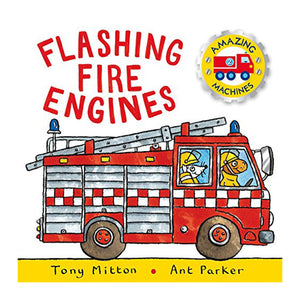 Amazing Machines: Flashing Fire Engines : Amazing Machines 2