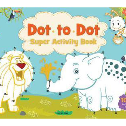 Dot to Dot Super Activity book (Pad)