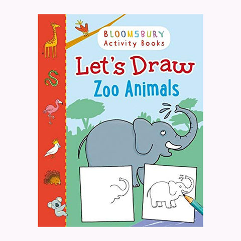 Let's Draw Zoo Animals
