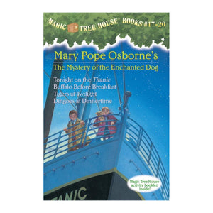 Magic Tree House Volumes 17-20 Boxed Set