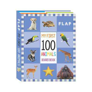 My First 100 Board Book - 100 animals