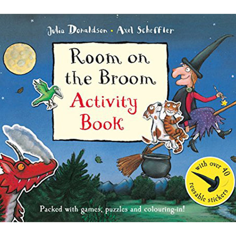 Room On The Broom Activity Book