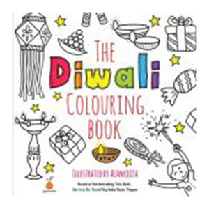 The Diwali Colouring Book