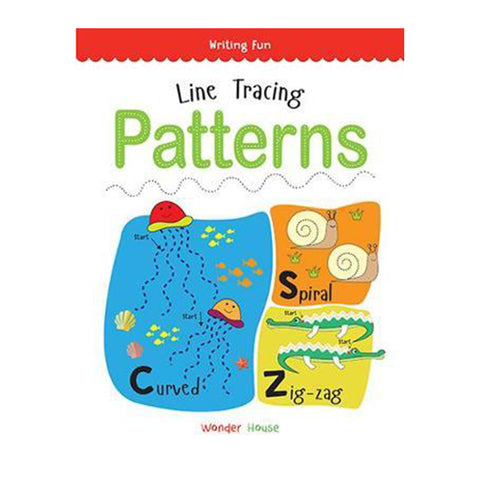 Writing Fun Series-Line Tracing Patterns