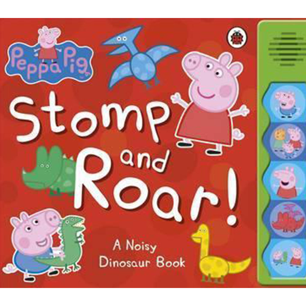Peppa Pig: Stomp and Roar! (Sound Book)