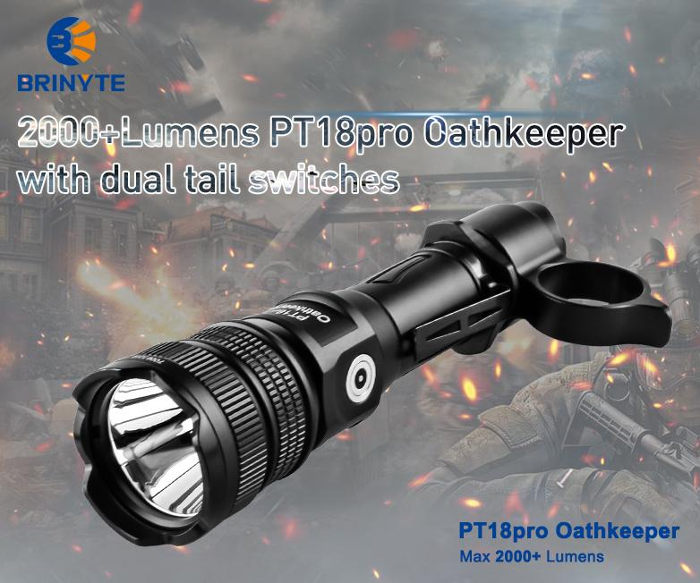 Brinyte PT18Pro Oathkeeper LED Flashlight