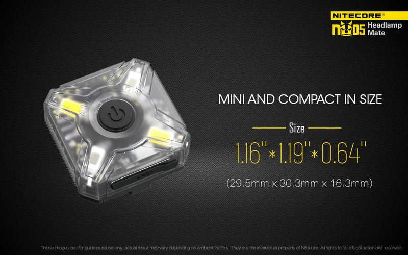 Nitecore NU05 Headlamp Mate Kit