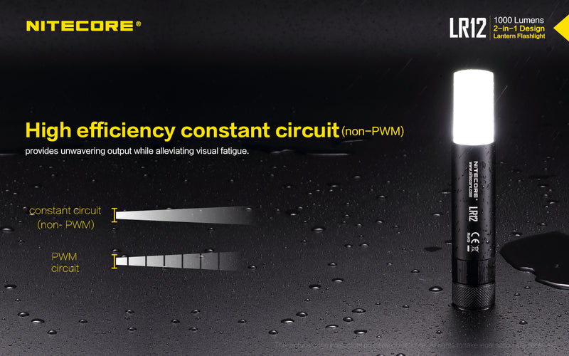 Nitecore LR12 Handheld LED Lantern and Flashlight
