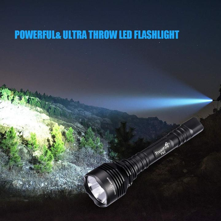 TrustFire T62 LED Tactical Flashlight Kit