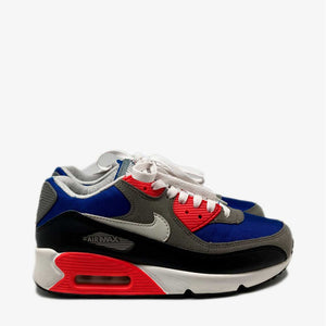 Wmns Air Max 90 Black Grey Berry White
