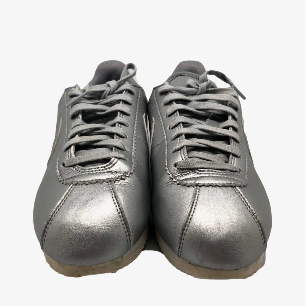 Classic Cortez Leather Metal Silver Wmns
