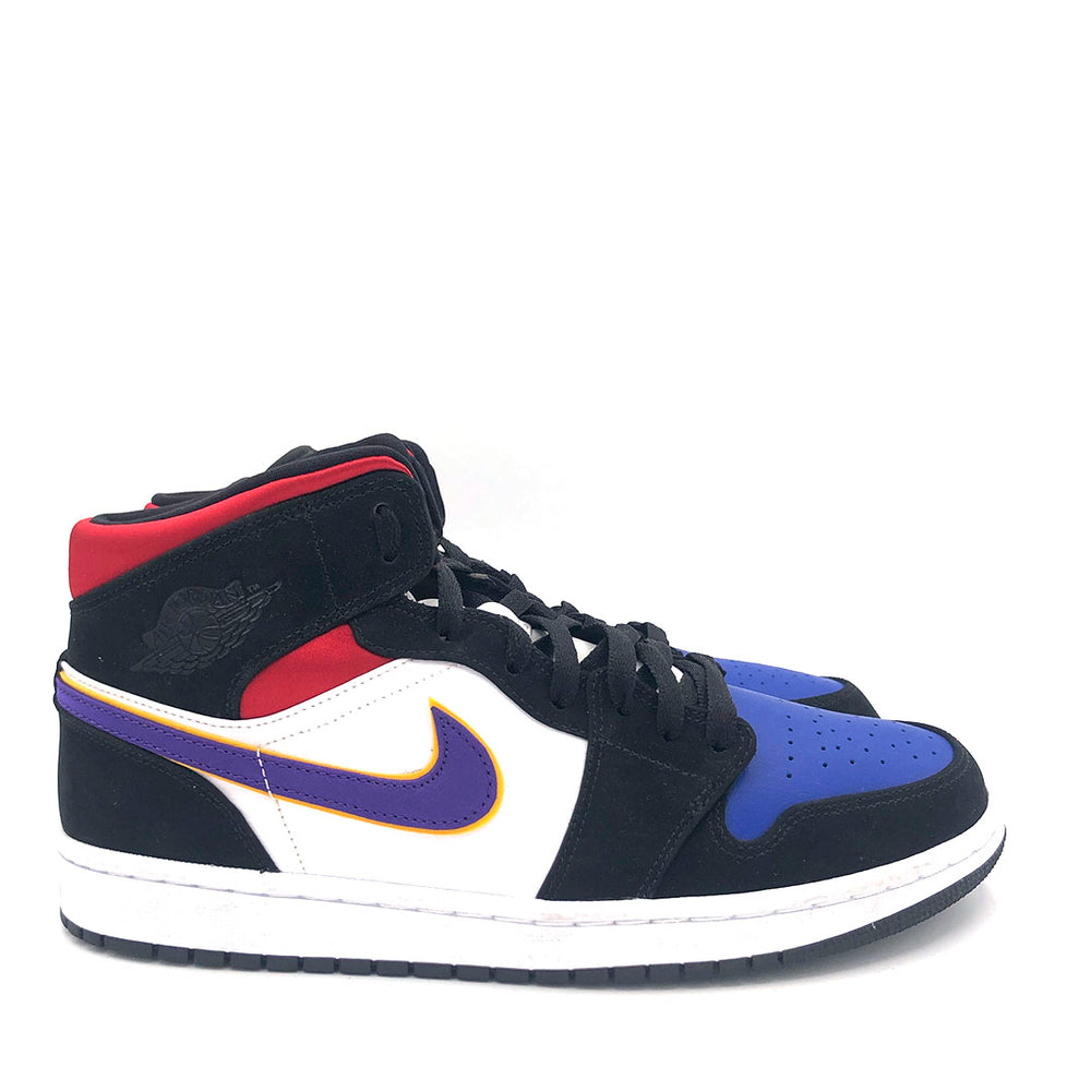 Jordan 1 Mid Lakers Top 3 'Violet'
