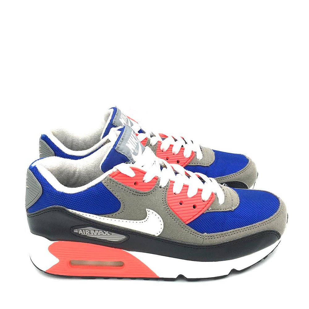 Air Max 90 GS Military blue/Metallic Silver
