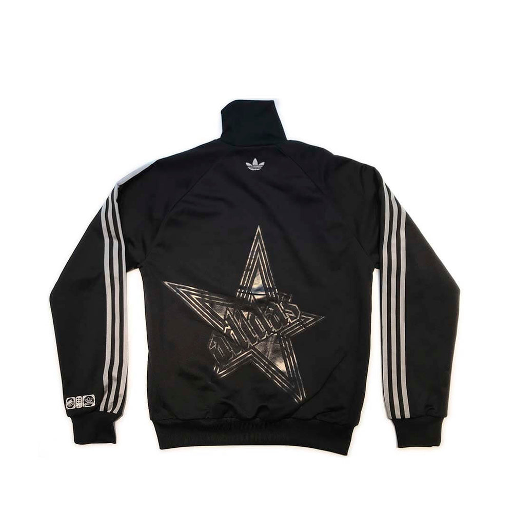Adidas Track Top Retro 'black guitar'