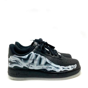 Air Force 1 Low Black Skeleton (NEW)