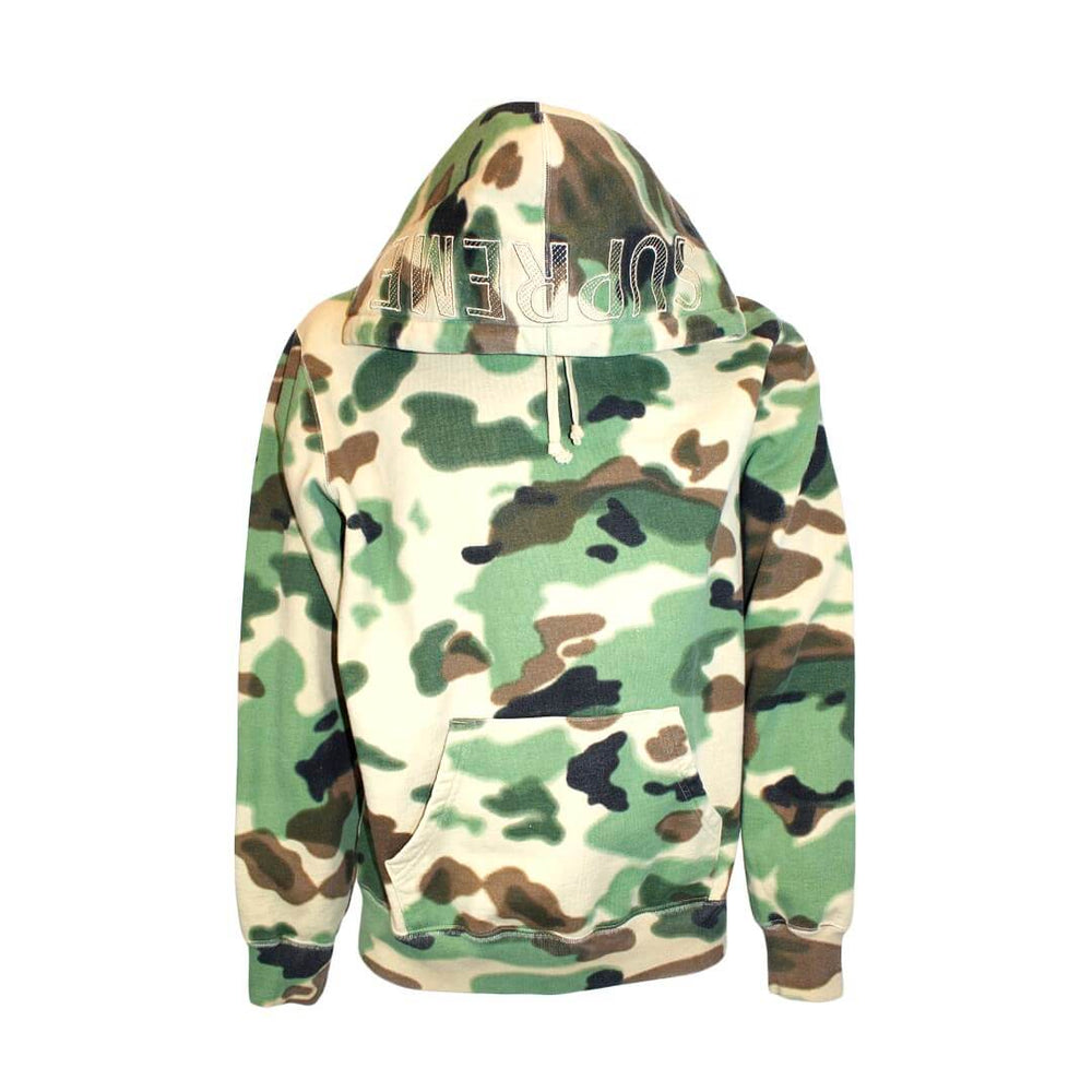 Supreme Overdyed Hooded Sweatshirt (SS20) Painted Camo