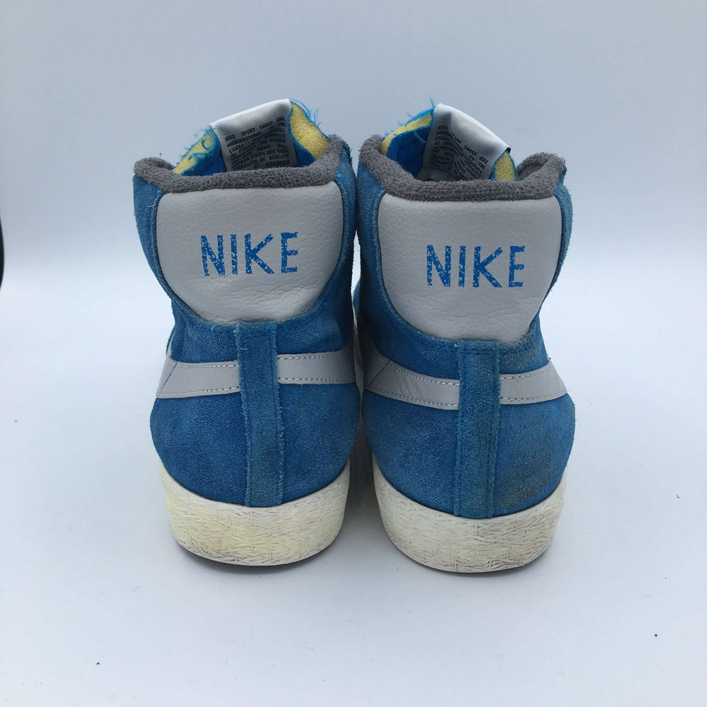 Blazer Mid PRM VNTG Suede 'Photo Blue/Strata Grey'