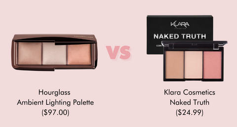 Get the Klara Cosmetics Naked Truth instead of Hourglass Ambient Lighting Palette to save $72.