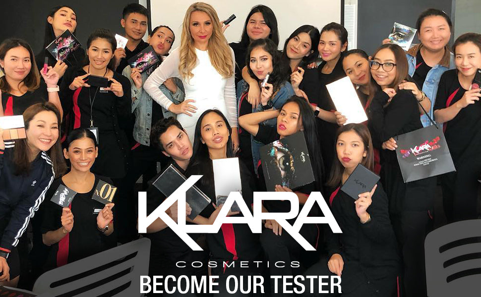 Klara Cosmetics Become a Tester